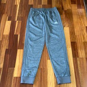 Boys Adidas lined pants